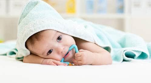 التسنين نصائح لتهدئة لثة الطفل ويب طب