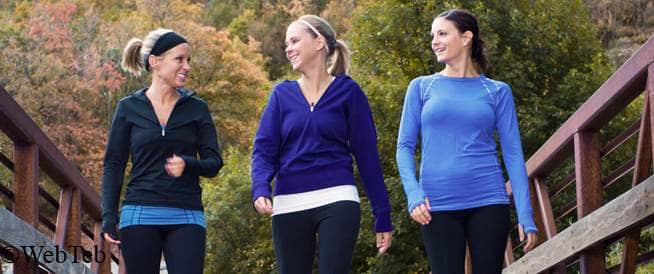 المشي: قلل محيط الخصر، وحسّن صحتك