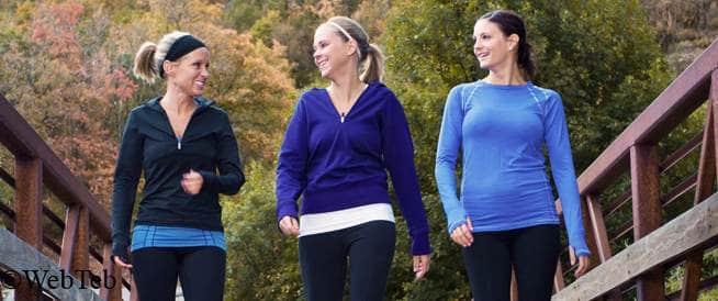 Walking: Reduce your waistline, improve your health