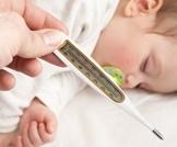 علاج حمى الطفل