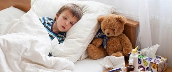 طفلي مصاب بالإنفلونزا: ماذا أفعل؟