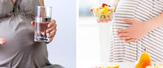 العناصر الغذائية الضرورية خلال الحمل