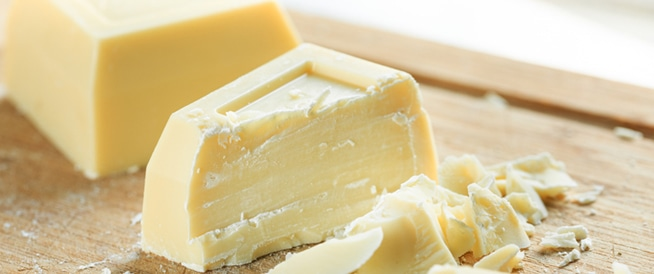 Are there any benefits to white chocolate?