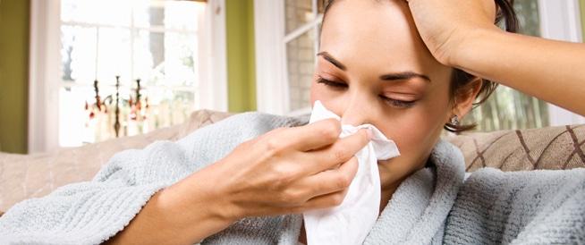 علاج الإنفلونزا ونزلات البرد للحامل