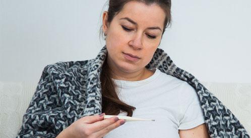الزكام أثناء الحمل