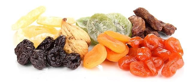 فوائد الفواكه المجففة بأنواعها المختلفة
