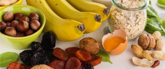 أطعمة تتفوق على الموز في محتواها من البوتاسيوم!