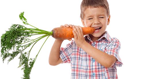 أطعمة غنية بالألياف للأطفال