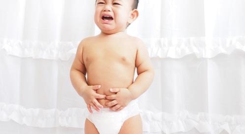 ألم المعدة لدى الأطفال