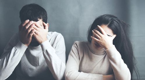 الاكتئاب والعلاقات الزوجية