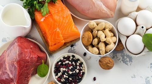 انخفاض مستوى البروتين