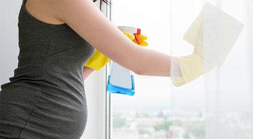 اعمال منزلية يجب على الحامل تجنبها
