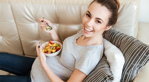 خطوط البطن خلال الحمل