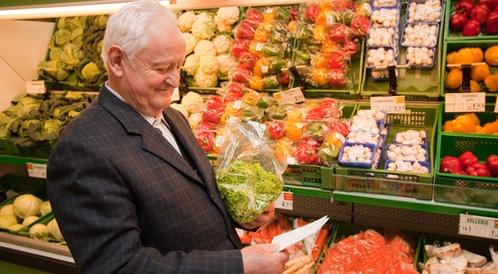 أطعمة كبار السن