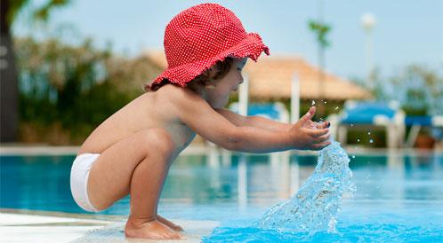 الغرق الجاف عند الأطفال