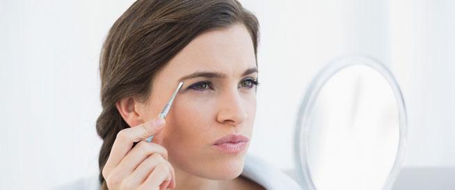 نمو الشعر في أماكن غير مألوفة لدى المرأة