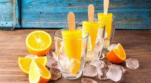 المشروبات المثلجة والصيف