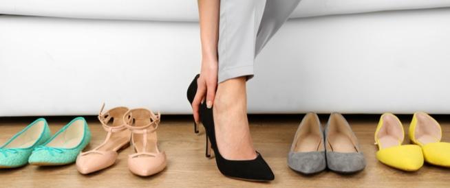 5 أحذية سيئة لصحة القدم
