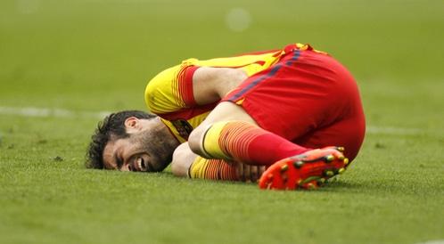 اشهر الاصابات في كرة القدم