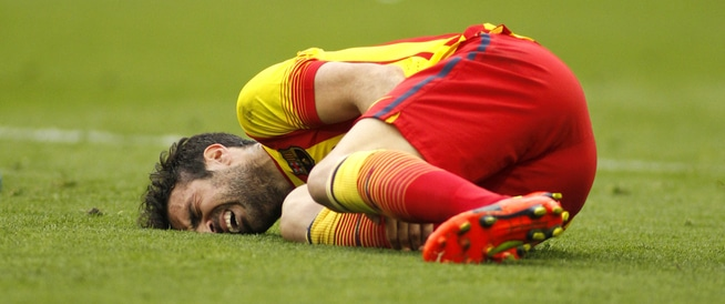 أشهر 6 إصابات يتعرض لها لاعب كرة القدم