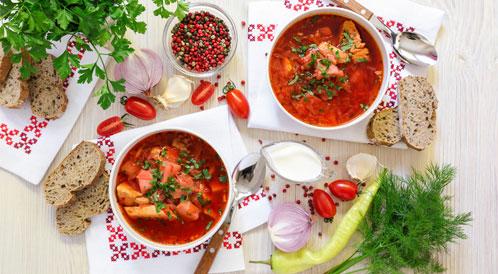 الاطعمة الصحية في روسيا