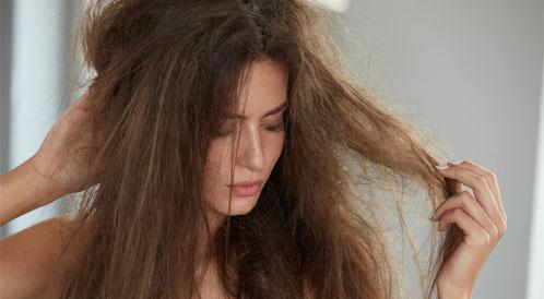 الشعر الهايش والمتطاير