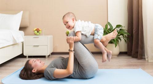 تمارين رياضية للحامل ومولدها