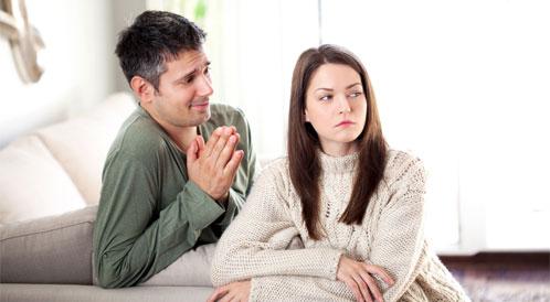 الإعتذار بين الزوجين