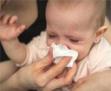 الرضيع ونزلات البرد