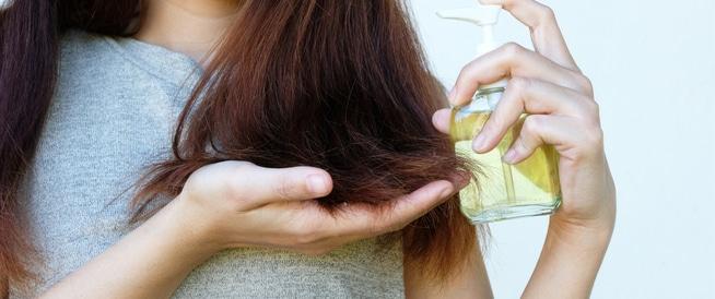 أهم زيوت الشعر المختلفة
