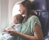 أمور هامة للسفر مع الرضيع