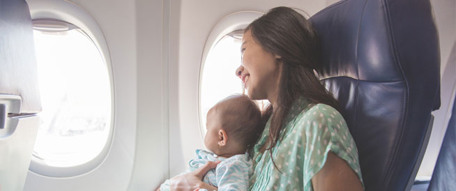 السفر مع الطفل الرضيع: أمور هامة يجب مراعاتها
