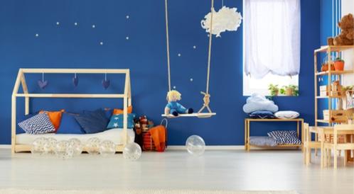 ألوان غرفة الطفل