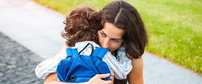 قلق الطفل من الانفصال: هذا ما يجب أن تعرفه