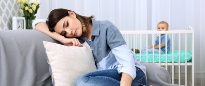 اكتئاب ما بعد الولادة: لهذا نشعر به!