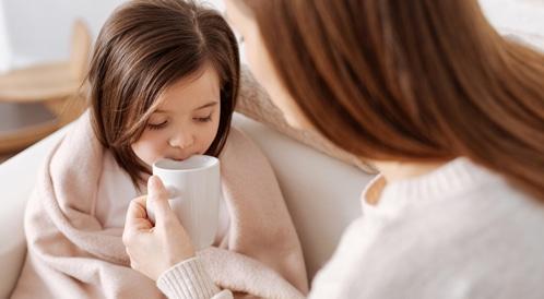 الكحة عند الاطفال