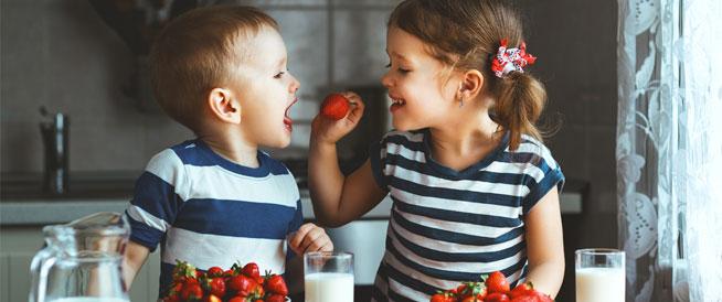 أطعمة يجب أن يتناولها الأطفال يومياً