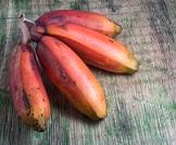 فوائد الموز الاحمر