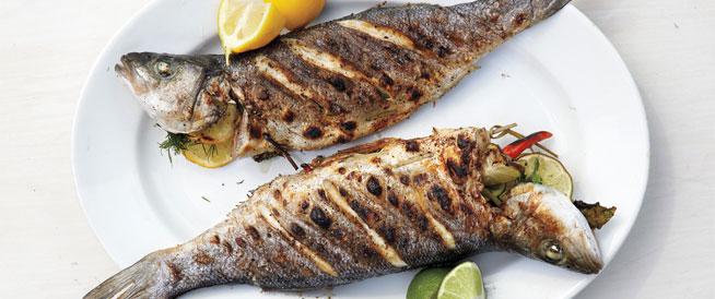 طريقة عمل السمك المشوي