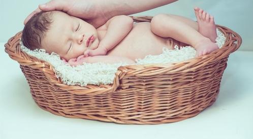 اليافوخ لدى الرضع