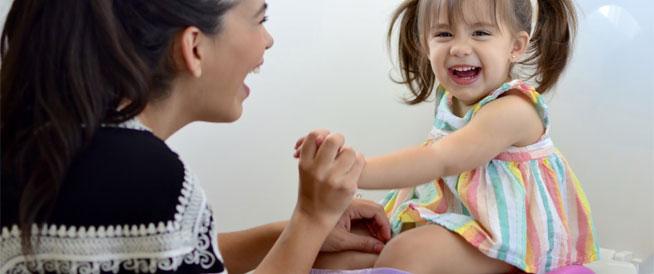 أشياء لا تفعليها مع طفلك أثناء تدريب النونية