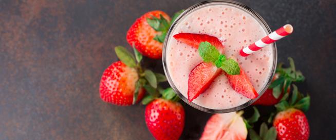 طريقة عمل عصير الفراولة وفوائده الصحية