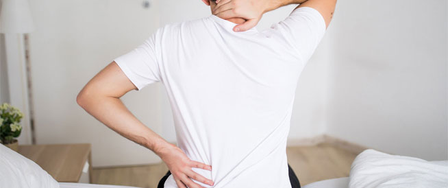 علامات مبكرة للإصابة بديسك الظهر