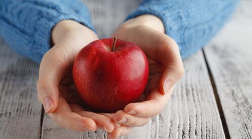 التفاح الأحمر