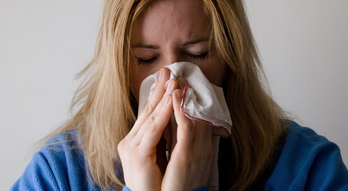 الإنفلونزا في فصل الشتاء