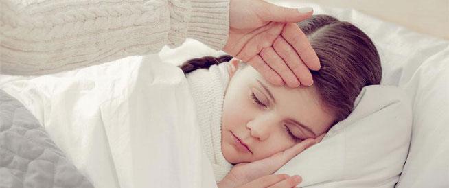 أمراض تسبب ارتفاع درجة حرارة الطفل