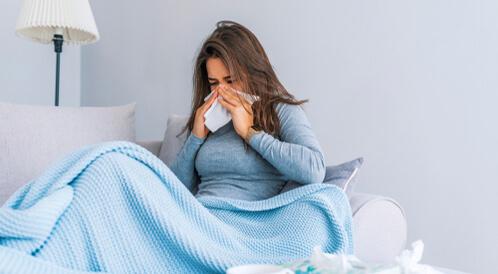 أعراض الأنفلونزا