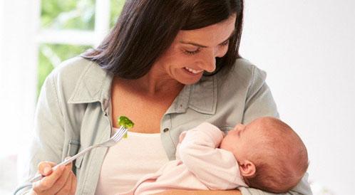 أطعمة غير مسموحة للمرضعة