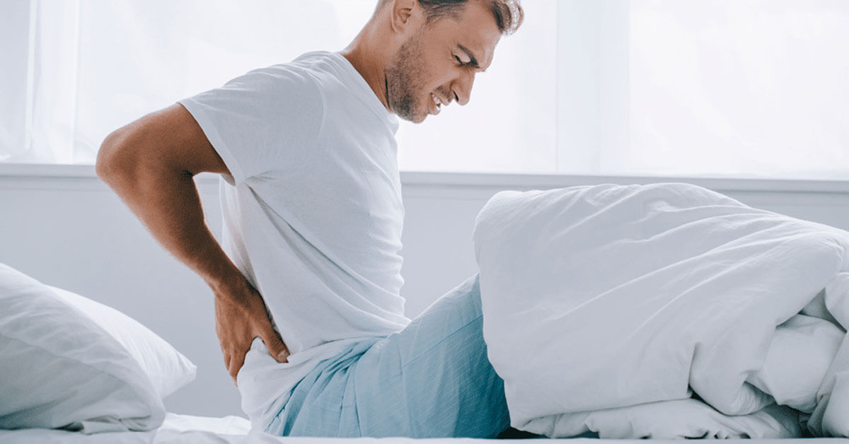 ألم الظهر الصباحي ما هي الأسباب والعلاجات ويب طب