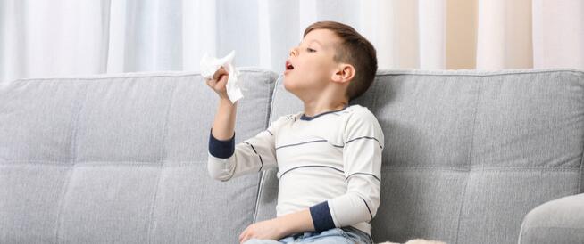 علاجات منزلية لحساسية الأطفال